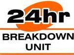 24 hour breakdown logo