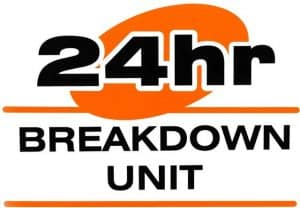 24 hour breakdown logo