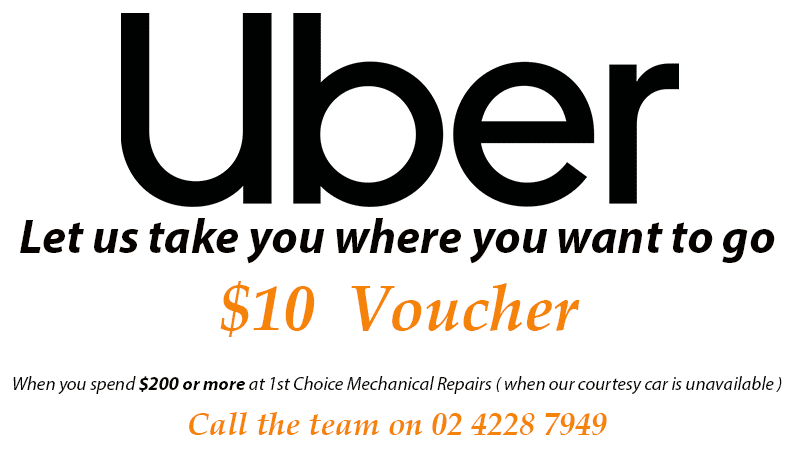 Uber logo with uber promotional text